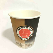 take away single wall paper cup with lids