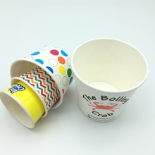 disposable takeaway ice cream paper cup