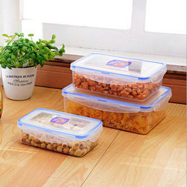BPA Free Airtight Plastic Storage Food Storage Container,China OEM or ODM plastic food storage container with lid