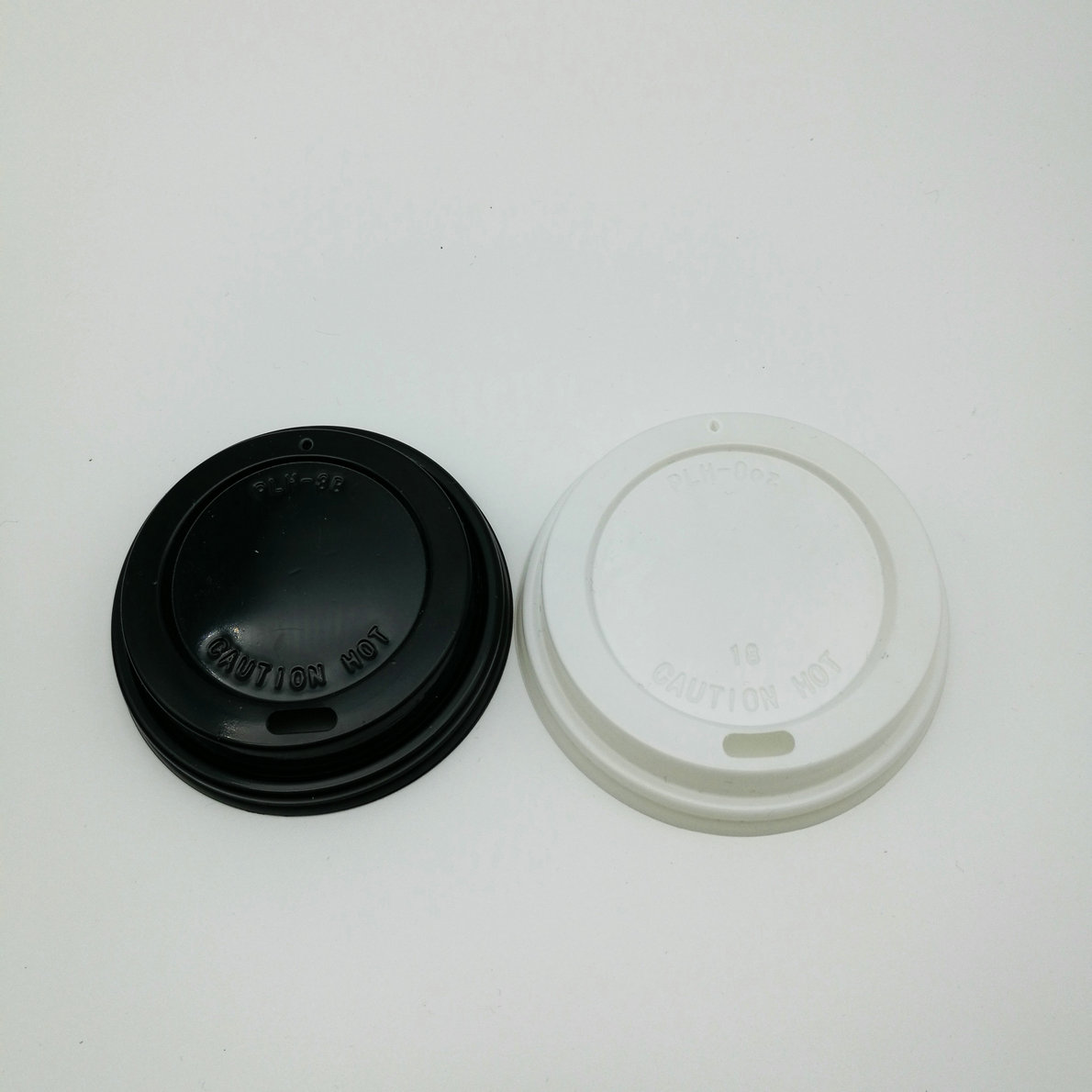 Disposable coffee cup dome plastic lid with spout - .bio-tableware.com & Disposable coffee cup dome plastic lid with spout - www.bio ...