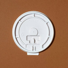 Factory price custom printed coffee lid disposable plastic lids for hot paper cup