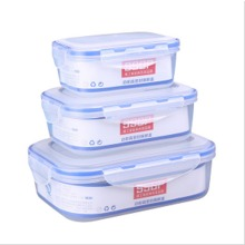 Microwave pp plastic food container storage