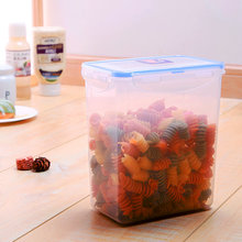 food storage plastic food container with lids and silicon sealed