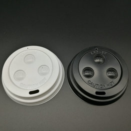 80mm 85mm 90mm PS Plastic Coffee Lids