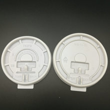 Flat Plastic PS Lid For Cups Or Bottles