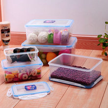 Food grade microwave plastic food container set