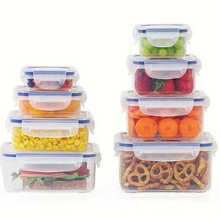 OEM BPA free PP Airtight Plastic Microwave Food Storage container