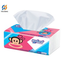 OEM Custom facial tissue paper box soft pack