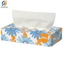 Party facial tissue paper