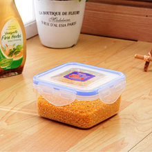 Heat-resistant keep fresh BPA-Free Leakproof food container plastic box