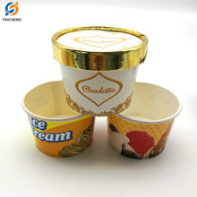 6oz 8oz 12oz 16oz hot selling paper ice cream paper cups wholesale with custom logo