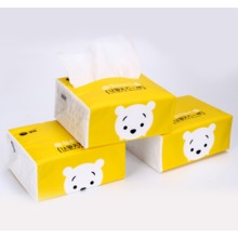 soft facial tissue box, face cleaing tissue paper no fluorescent agent