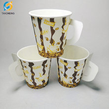 Wholesale Low Price High Quality Paper Cup with handle 7oz 9oz