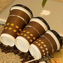 12oz double wall coffee paper cups insulated for heat protection ,double wall coffee paper cup