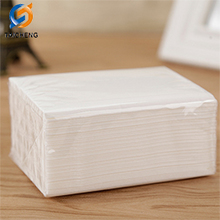2 layers white facial tissue paper
