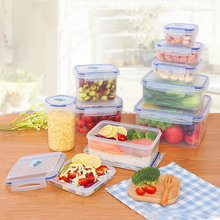 any shape rectangle round fruit storage plastic container ,airtight PP food container