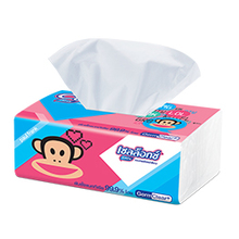 box soft facial tissue paper