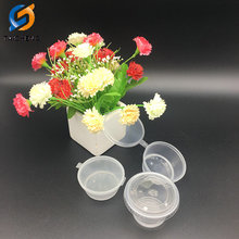 Disposable Plastic Sauce Cup Fast Food Packaging Container with Lids