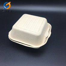 high quality biodegradable disposable tableware hamburger box
