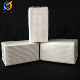 biodegradable disposable virgin wood pulp facial tissue paper