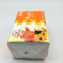 Biodegradable 180mm Baby Care Soft Facial Tissue Paper