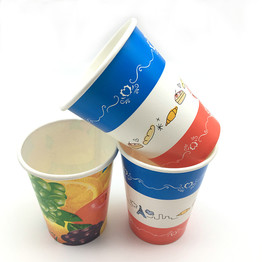 Party Cold Drinking Paper Cup with double PE coating