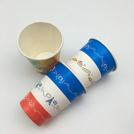 disposable food grade cold drink take out paper cup