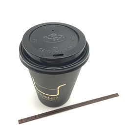 disposable single wall hot drink take out paper cup