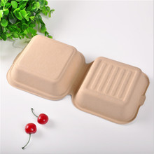 recycled virgin pulp bagasse take away food box