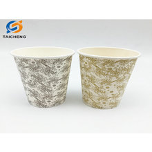 Single wall disposable paper cup