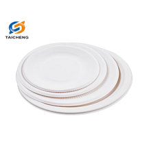 high quality round biodegradable bagasse paper plate machine