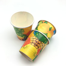 disposable paper glass cold drink paper cups