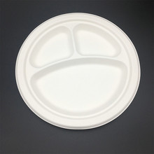 compostable biodegradable oil resistant paper tray with high quality