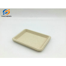 high quality disposable biodegradable wheat straw plate