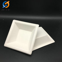Square biodegradable sugarcane bagasse bowl manufacturer