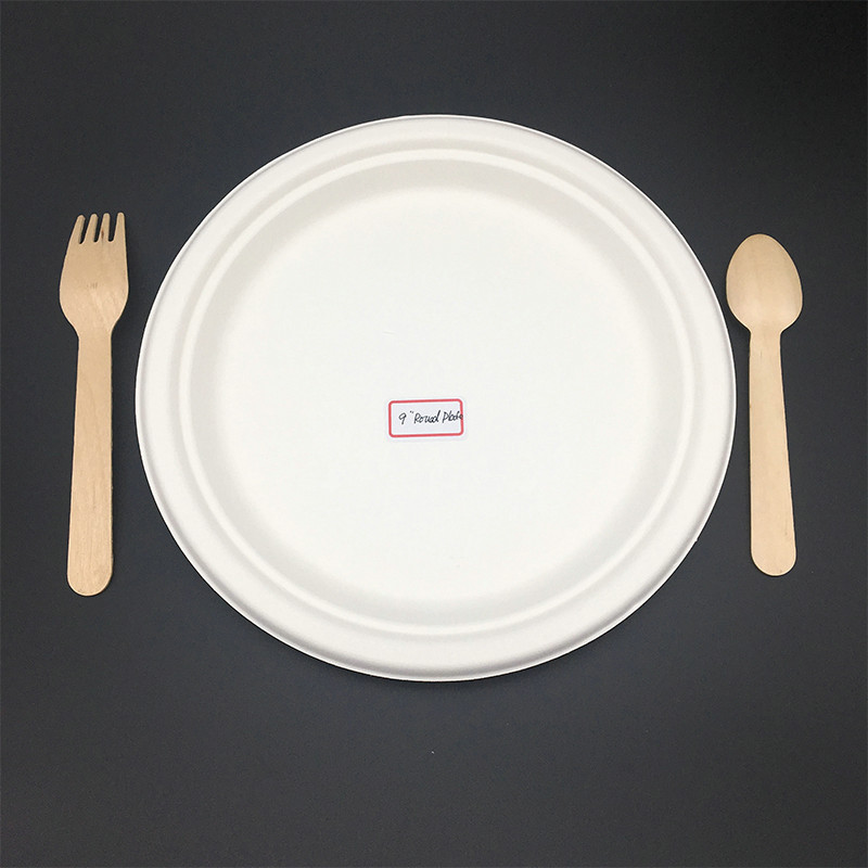 9 inches no ision Eco-Friendly Disposable biodegradable paper plates & 9 inches no ision Eco-Friendly Disposable biodegradable paper ...