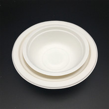 Bagasse Bowl Salad Bowl Round Bowl Durable All Natural Biodegradable Disposable Material