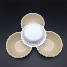 premium degradable Tree Free Natural Wheat straw Fiber Disposable Bowls