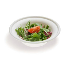 12oz Bagasse Salad Round Bowl Durable Biodegradable Disposable Material
