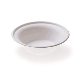 350ml sugarcane Bagasse Round Bowl Biodegradable with BPI certified