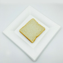 6inch 8inch biodegradable bagasse pulp dinnerware oil proof square plate