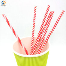 2018 hot sale kinds of colorful paper drinking straws biodegradable