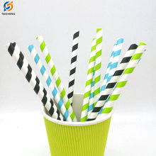 FDA Certificates Eco-friendly Soy Ink print paper straws