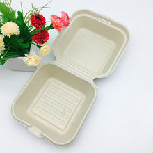 FDA certification compostable burger box hamburger packaging