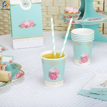 wholesale party biodegradable drinking paper straws