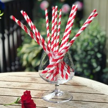 Eco friendly biodegradable paper straws