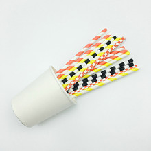 Eco Friendly Recycled Colorful Drinking Paper Straw forJuice