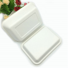 rectangle shape food container box with separate paper lid