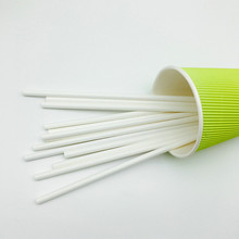 Biodegradable Party Favors White Paper Drinking Straw