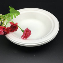 Disposable Biodegradable Compostable Sugarcane Bagasse Bowl